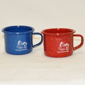 Enamelware Metal Camp Cup 4 oz.