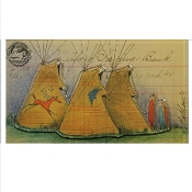 Tipi Ledger Art Magnet