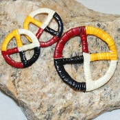 Quill Medicine Wheels by Mildred Young, Lakota