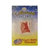 Crazy Horse Stamp Lapel Pin