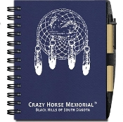 Recycled Material Dreamcatcher Notebook