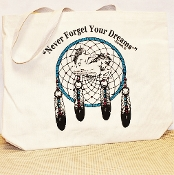 Canvas Dreamcatcher Tote
