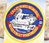 Crazy Horse Logo Patch