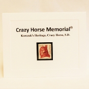Crazy Horse Stamp Notecard