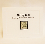 Sitting Bull Stamp Notecard