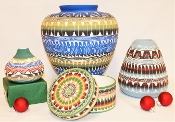 Sioux and Navajo Pottery (Please contact us to order)