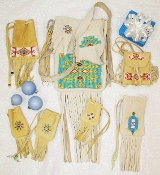 Beaded Bags by Douglas Fast Horse (Please contact us to order)