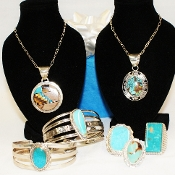 Sterling Silver Jewelry (Please contact us to order)