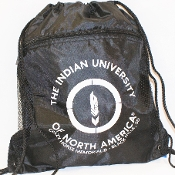 INDIAN UNIVERSITY OF NORTH AMERICA™ String Sports Bag